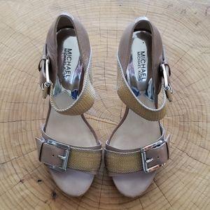 MICHAEL MICHAEL KORS high heel sandal